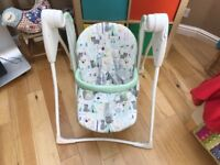 Graco baby swing chair battery operated