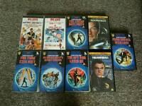 9 James Bond Videos VHS - FREE