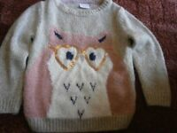 girls tops/jumpers age 2-3