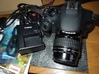 Canon 1200d with 35-80mm af ultrasonic lens