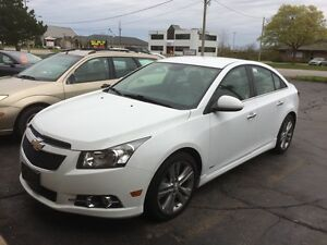 2013 Chevrolet Cruze LTZ Turbo LOADED WITH OPTIONS!