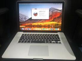 "MacBook Pro 2011, 15"" Screen, Intel Core i7 cpu, 8GB memory, 120GB SSD, 1TB Hard Drive"