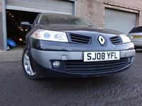 08 RENAULT MEGANE 5 DOOR HATCHBACK,1.4,MOT FEB 018,1 OWNER,2 KEYS,PART HISTORY, RELIABLE FAMILY CAR