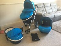 Silver Cross Surf 2 All In One Travel System (pram/buggy/push chair)