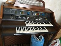 Baldwin overture two tier electric organ