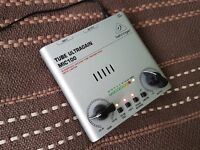 Behringer MIC100 Ultragain High End Vacuum Tube Preamplifier for microphone and guitar / NEW