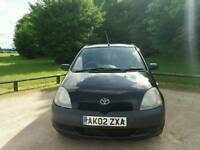 TOYOTA YARIS 1.0L 5DOOR 1LADY OWNER MOT TILL 12/11/2017 WARRANTED MILES