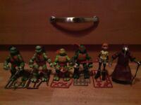 Teenage Mutant Ninja Turtles 2012 Action Figure Set