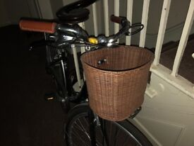 Ladies Retro Style Bike with basket very good condition