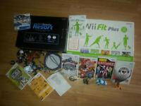 NINTENDO WII SPORT CONSOLE WITH EXTRAS VGC