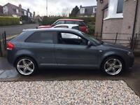 Audi A3 SLine 2.0TFsi Quattro