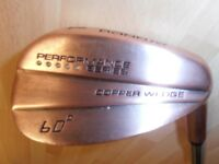COPPER-HEADED. - LOB WEDGE. 60 degrees of Loft !!.