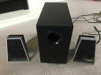 Altec lancing speakers