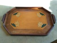 Vintage retro tea tray