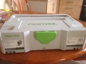 Festool jigsaw and accessory kit