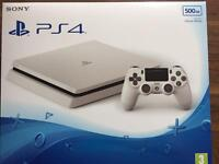Brand new & sealed PS4 White 500gb with 1 year warranty RRP£229.99