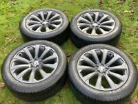"20"" Range Rover Evoque Velar Discovery Sport Alloy Wheels Tyres"