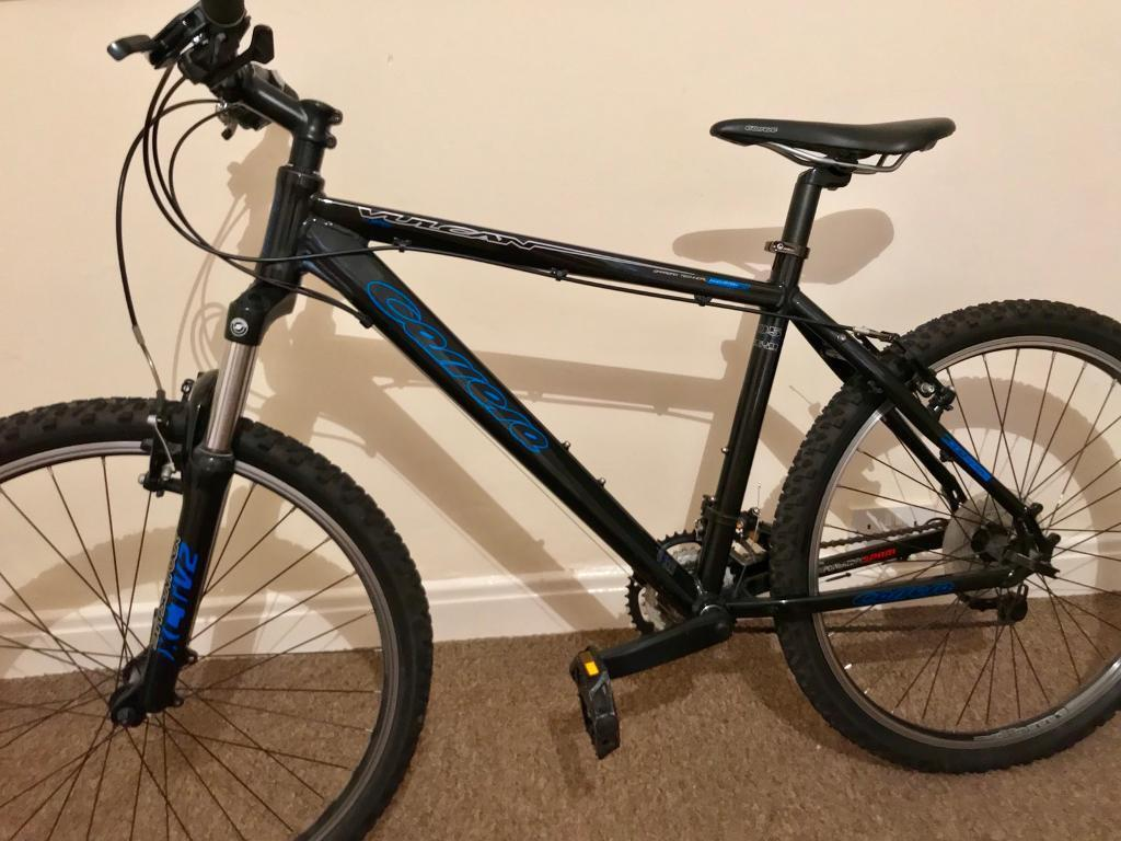 "Carrera Vulcan V 18"" Mountain Bike. Reposted due to non payment."