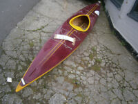 VINTAGE RETRO KITSCH KAYAK / CANOE 1970S 80S ERA IN YEOVIL