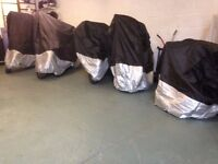 Motorcycle Storage in Secure Unit. South of Reading 5 miles from Junction 11, M4