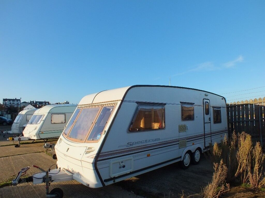1997 Abbey(Swift) Spectrum 520, comfortable four (4) berth caravan