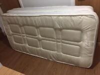3 month old single mattress (like new) x2