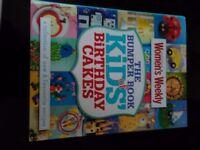 5 cake/cupcake books and templates