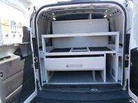 Fiat doblo maxi van rack shelves