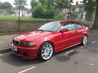 BMW 320cd Sport Coupe Imola Red 6 Speed Manual Diesel