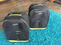X2 Hand luggage suitcases