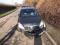 Vauxhall zafira for breaking 1,7 cdti