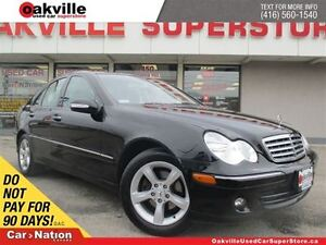 2007 Mercedes-Benz C-Class | LEATHER | HEATED SEATS | SUNROOF |