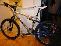 Great Adult Size 21 Speed Full Suspension Mountain Bike!