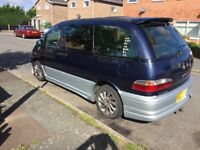 Toyota lucidia estima 8 seater auto long mot lots of recent work done need it gone as have newer car