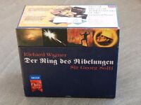 Wagner The ring Cycle complete boxed set of 14 CDs