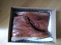 Clarks men's brown boots. Size 9G