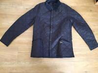 Barbour Heritage Liddesdale Quilt jacket, size large, navy