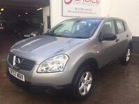 NISSAN QASHQAI 1.6 VISIA ** FULL MAIN DEALER HISTORY ** DEC 2017 MOT ** ONE OWNER FROM NEW **