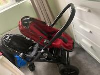 Double buggy- baby jogger city select
