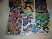 SIX DC COMICS BLOODLINES