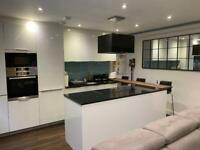 Beautiful modern two bed with patio council flats what for three bed with garden