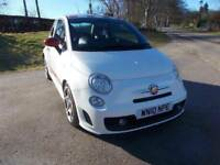 2010 10 ABARTH 500 1.4 T-JET 135 BHP 3 DOOR HOT HATCH CALL 07791629657