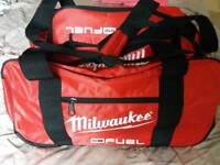Milwaukee wheeled tool bag/ Clothes holdhall