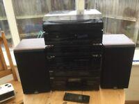 Sony hifi with celestion speakers