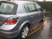Vauxhall Astra 1.7 cdti 2008 08 silver long mot