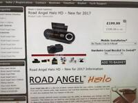 Road angel Halo front and rear HD car dash camera