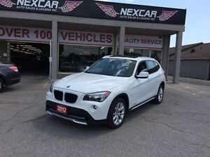 2012 BMW X1 AWD AUT0 LEATHER PANORAMIC ROOF 91K