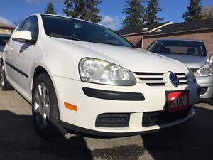 2008 Volkswagen Rabbit Trendline Low KM 150K Alloys Sunroof Pwr