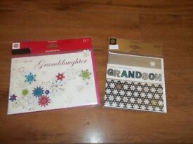 1000 CHRISTMAS CARDS MARKS & SPENCER HANDMADE GRANDSON GRANDMA RRP £3250