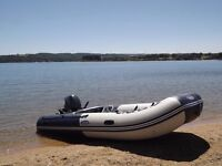 Zodiac Zoom 400 SP inflatable boat with Yamaha 20 hp outboard engine